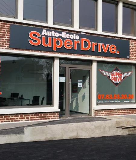 Auto-école SuperDrive à Bouchain